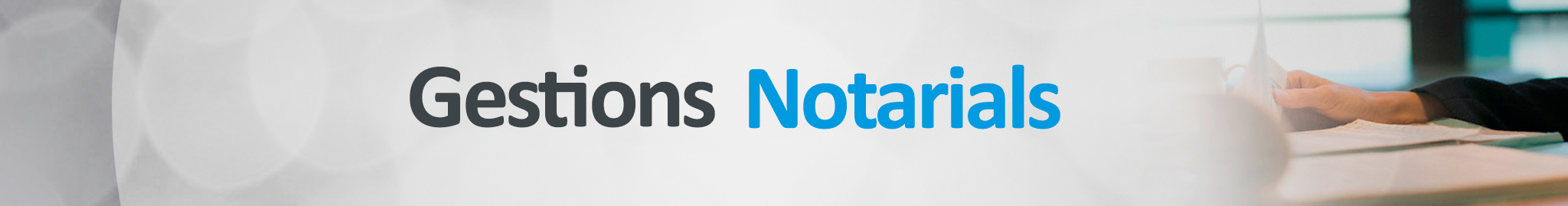 Gestions Notarials
